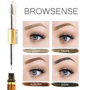 "3 BrowSense BUNDLE in ""Light"" color by SeneGence"